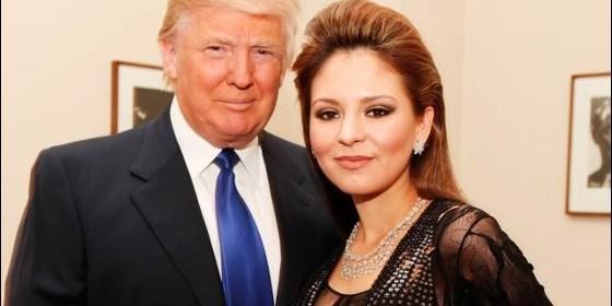 Donald Trump y Lola Astanova
