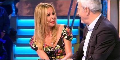 Ana Obregón con Carlos Sobera  (Telecinco)