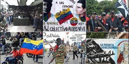 Colectivo chavista