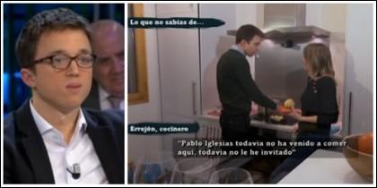 Íñigo Errejón presumiendo de su mini cocina.