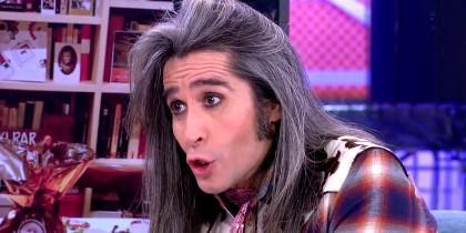 Mario Vaquerizo en 'Sábado Deluxe'  (Telecinco)