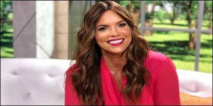 La presentadora de Telemundo Rashel Díaz.