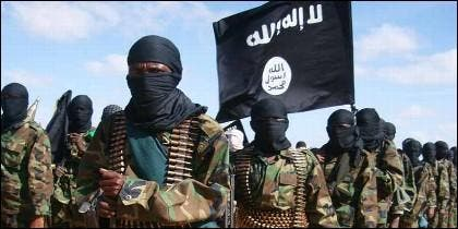 Terroristas islámicos del grupo Al Shabab.