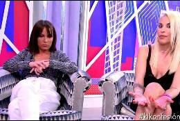 Tamara y Techi en 'Sábado Deluxe'  (Telecinco)
