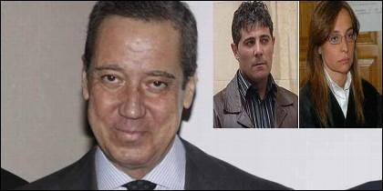 Eduardo Zaplana, la abogada Rebeca Santamalia y su asesino, José Javier Salvador.
