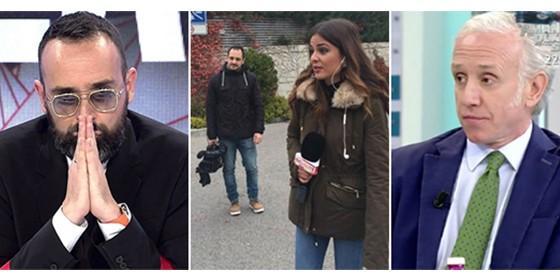 Risto Mejide, los reporteros de Socialité y Eduardo Inda en AR.