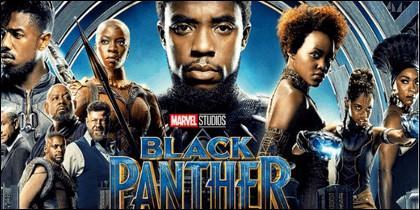 Cartel de la película 'Black Panther'.