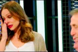 Eva González rompe a llorar  (Antena 3)