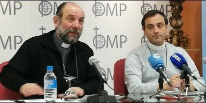 José María Calderón y Mario León Dorado presentan la Infancia Misionera 2019