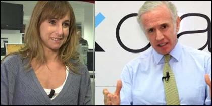 Ana Pardo de Vera y Eduardo Inda.