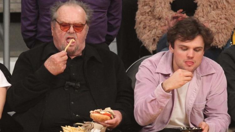 La impactante imagen de la reaparición de Jack Nicholson ...
