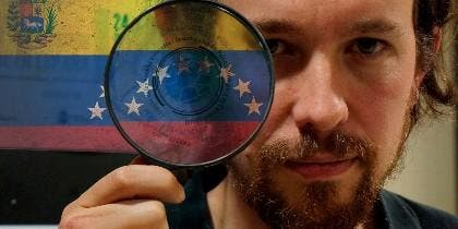 Pablo Iglesias y su amor al chavismo