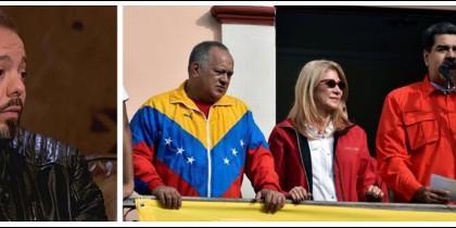 Antonio Maestre criticando a quienes pretenden derrocar a Maduro.