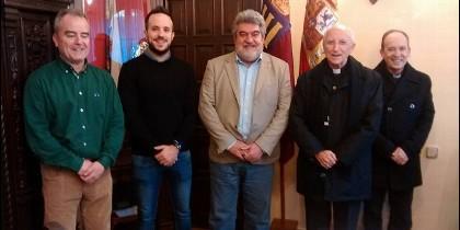 Reunión en el Ayuntamiento de Ciudad Rodrigo