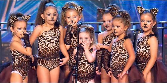 La urgente petición que hizo al jurado de `Got Talent` una de las pequeñas `Safari Queens`