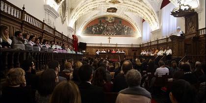 Miriam Cortés: 'Santo Tomás es ejemplo de poner el conocimiento al servicio de las personas'