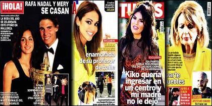 Las portadas de la prensa rosa (31-1-2019).