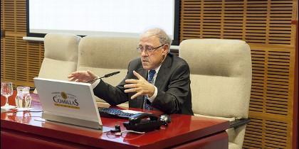 Ignacio Pérez Arriaga en el foro BP Energía y Sostenibilidad de Comillas