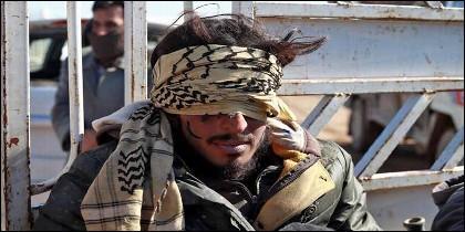 Un musulmán europeo capturado por los kurdos entre las fuerzas del ISIS.