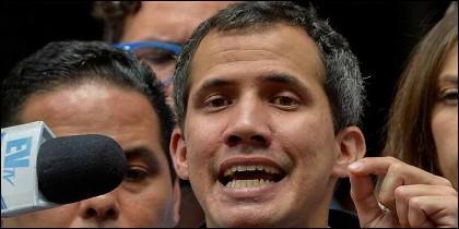 El líder venezolano Juan Guaidó.