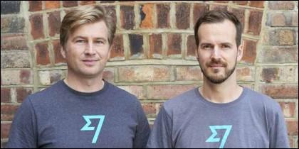 TrnasferWise: Kristo Kaarmann y su amigo y socio Taavet Hinrikus.