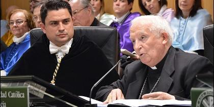 El Gran Canciller preside el acto académico de la UCV por santo Tomás de Aquino