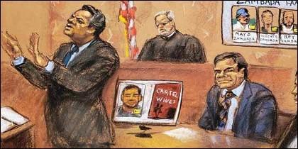 Jeffrey Lichtman, abogado de 'El Chapo' durante el juicio.