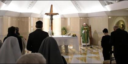 Homilía de Francisco en Santa Marta