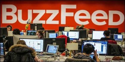 La redacción de BuzzFeed.
