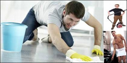 La vida del soltero y la limpieza de la casa.