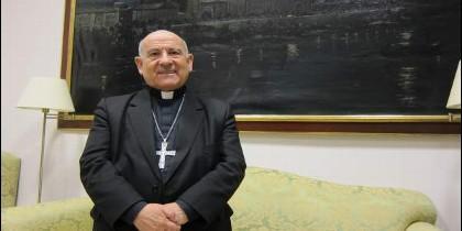 Monseñor Vicente Jiménez, arzobispo de Zaragoza