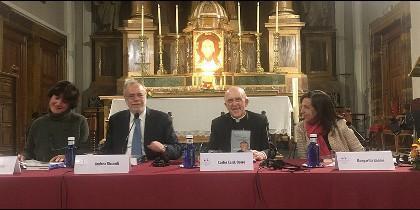 El cardenal de Madrid y Margarita Robles presentan 'Todo puede cambiar', de Andrea Riccari (San Pablo)