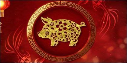 El Año del Cerdo en China.