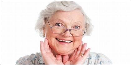 Mujer, edad, pensión, jubilación, longevidad y salud