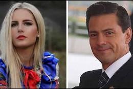 Enrique Peña Nieto y Tania Ruiz.