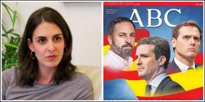 Rita Maestre y la portada de ABC que tanta alergia le produce.