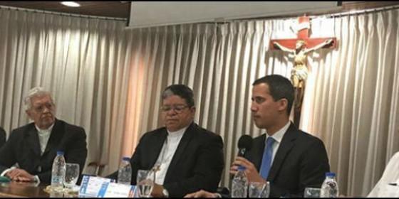 El Vaticano recibe la delegación venezolana enviada por Guaidó #11Feb