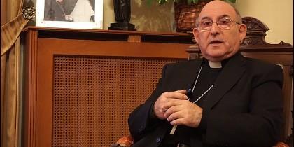 Monseñor Casimiro López, obispo de Castellón
