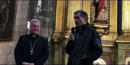 Mario Iceta presentó a su nuevo obispo auxiliar, que tomará posesión el 6 de abril