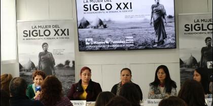 """'Mujeres contra la violencia en América Latina"""", mesa redonda en Manos Unidas"""