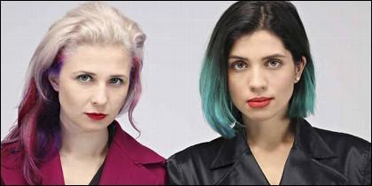 Las rockeras de Pussy Riot.