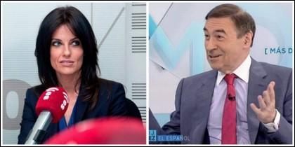 Cristina Seguí y Pedrojota Ramírez.