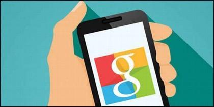 Google y el teléfono móvil.