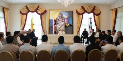 La Civiltta Cattolica publica el encuentro del Papa con los jesuitas de América Central