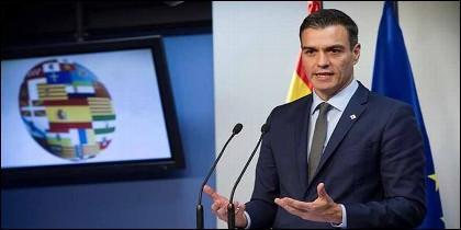 Pedro Sánchez (PSOE) en La Moncloa.
