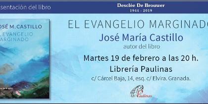 Castillo presenta en Granada su 'El Evangelio marginado'