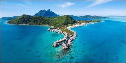 El hotel Conrad Bora Bora Nui.
