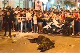 El cuerpo del venezolano asesinado a puñaladas en Perú.