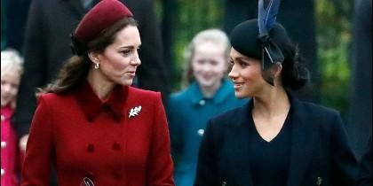 Kate Middleton y Meghan Markle