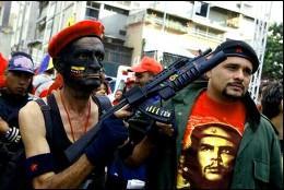 Milicianos chavistas